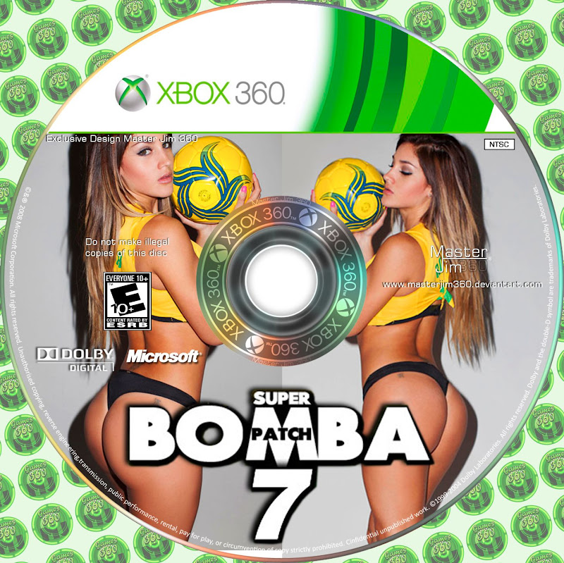 Label Super Bomba Patch 7 Xbox 360