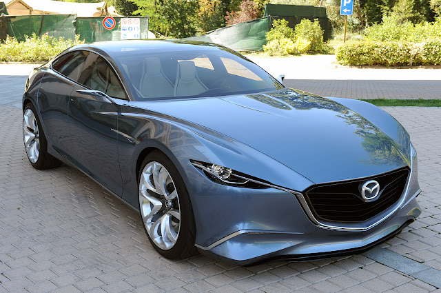 New Mazda Shinari Another four-door sports coupe