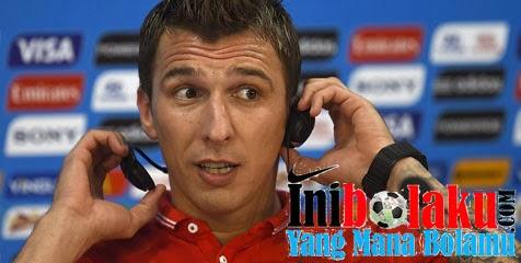 Mandzukic Fit 1000% Untuk Bela Kroasia