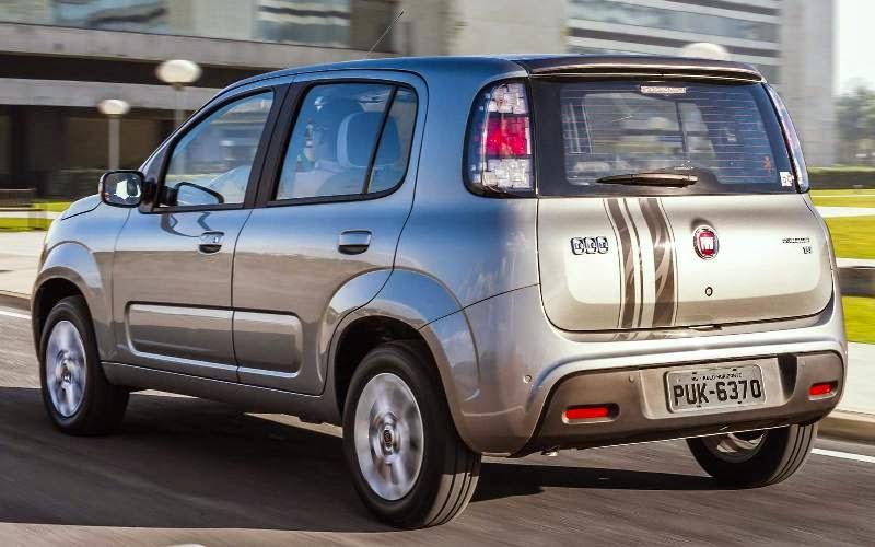 Novo Uno 2015 carros da fiat preço