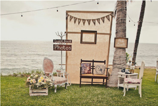 Bodas de bodas diy photocall - Photocall boda casero ...