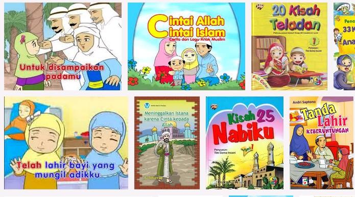Kumpulan buku Cerita Pendek anak Islami