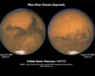 Fotografía del planeta Marte
