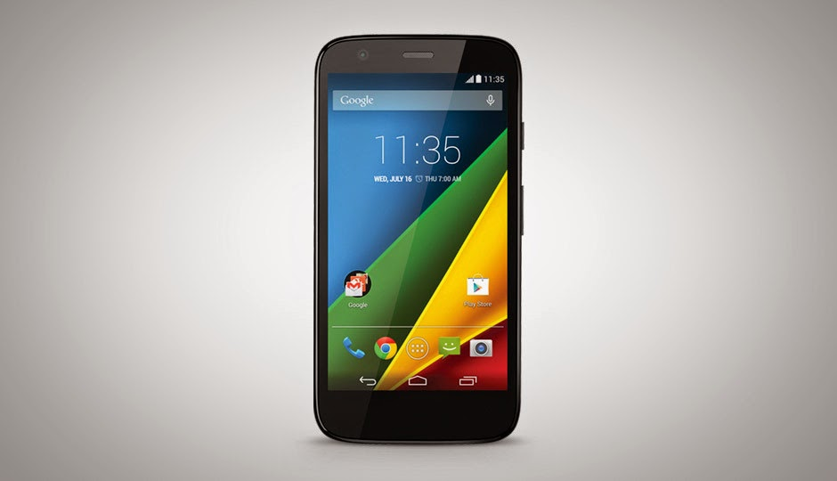 Moto G with 4G LTE and microSD support launched