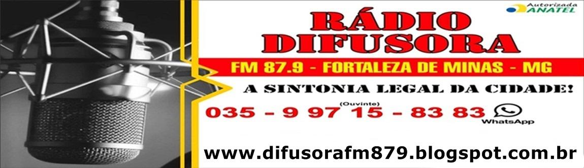 Rádio Difusora  - Fortaleza de Minas - MG