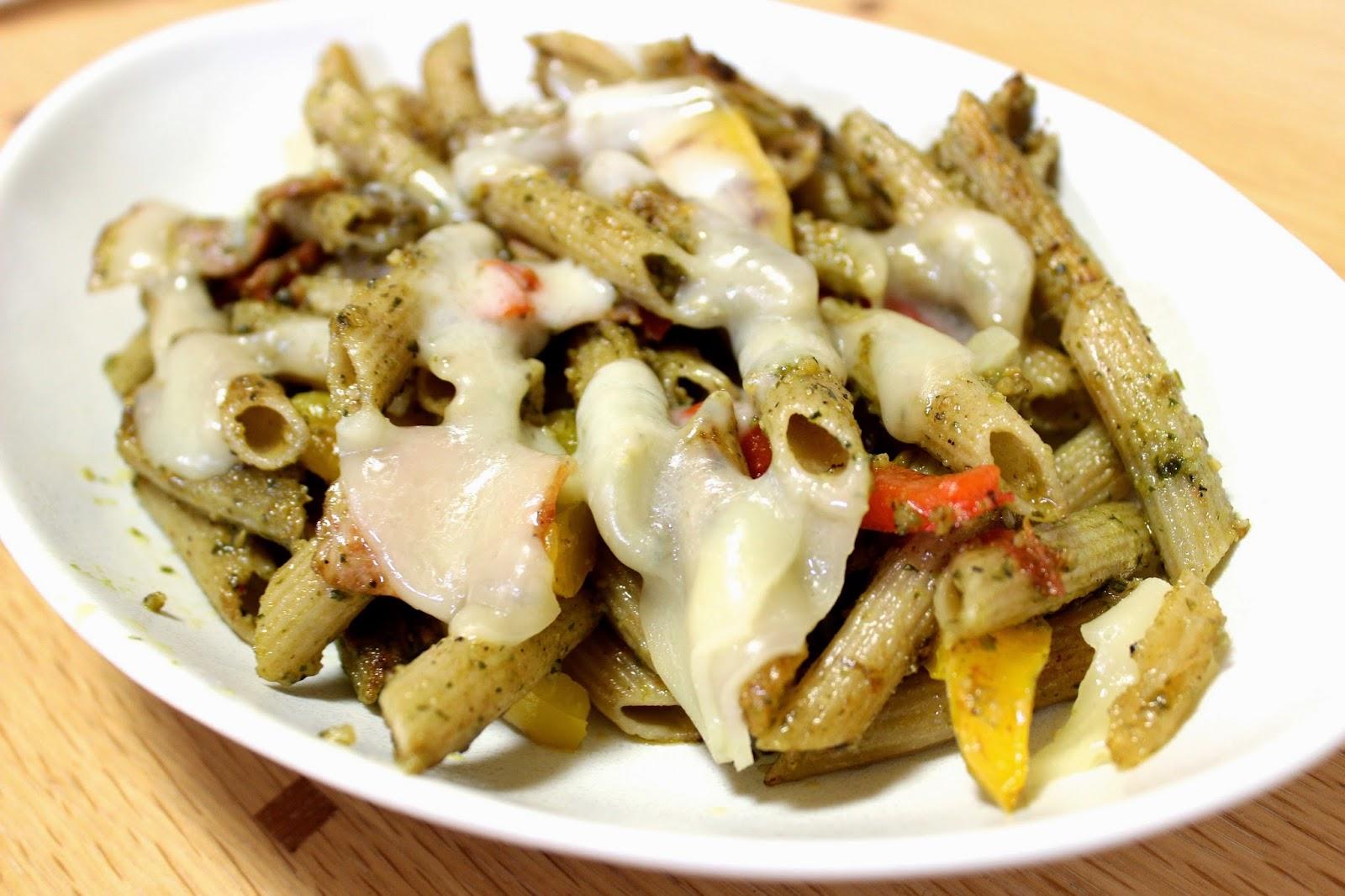 Organic Pesto Penne Pasta Recipe ♡