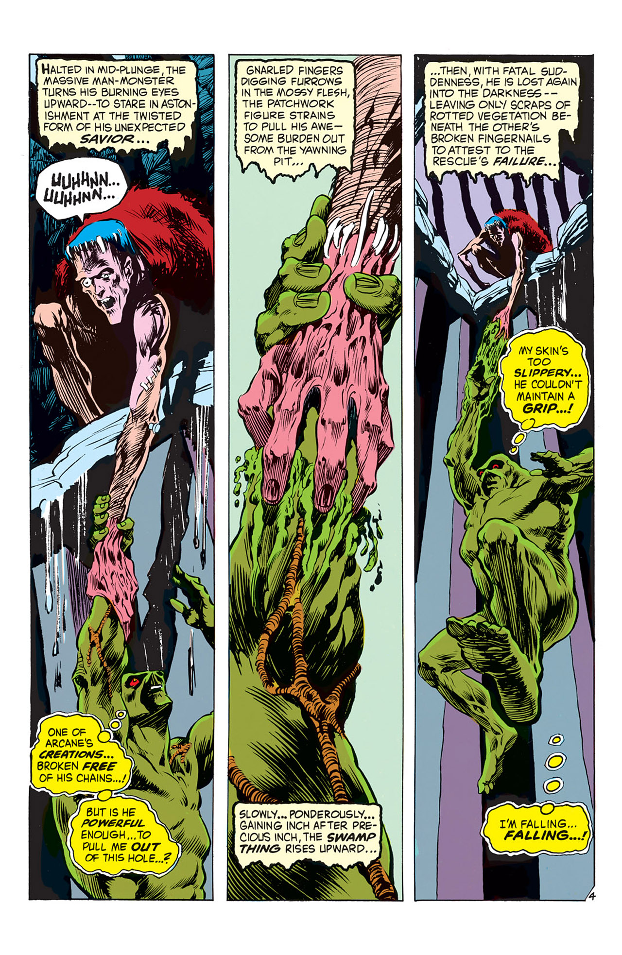 Swamp Thing (1972) Issue #3 #3 - English 5