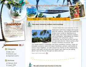 Free Tax Shopping at Fiji Blogger Template