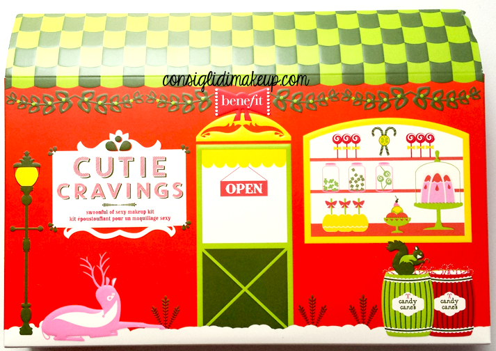 cofanetto natale benefit cutie cravings