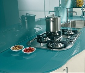 In Vetro Per Cucina. Trendy Bello Pannelli Per Cucina Layout With In ...