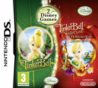 Tinkerbell - 2 Disney Games