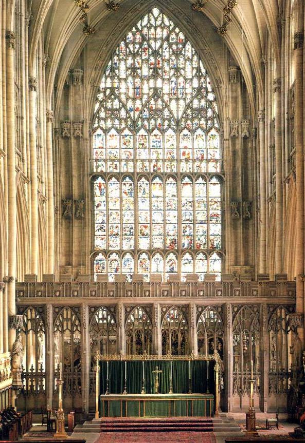 medieval news york minster great east window 39 s secrets
