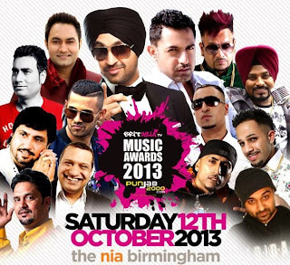 britasia,music,awards,winners,2013