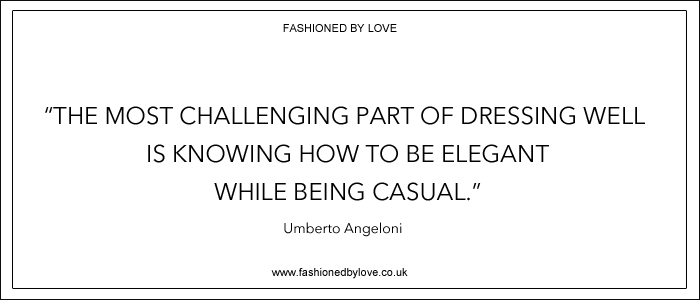 via fashioned by love | best fashion & style quotes | Umberto Angeloni
