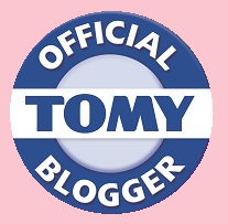 We're an Official TOMY Blogger!