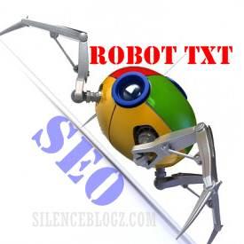 cara seting robot txt mesra SEO