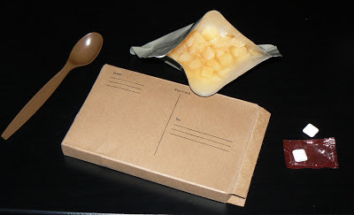 MRE Review: Menu 19, postcard pears