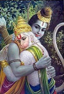 Rama e Hanuman