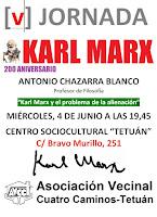 200 Aniversario Karl Marx: Antonio Chazarra Blanco