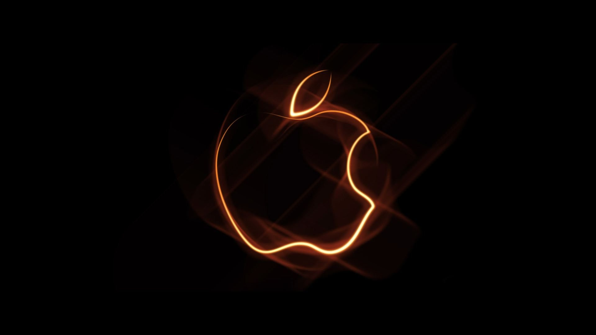 Free Wallpapers Hd Wallpapers Desktop Wallpapers Flaming Apple Logo
