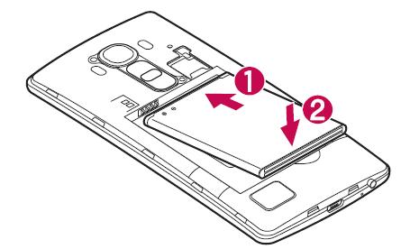 Come inserire SIM Lg G4 passo 3