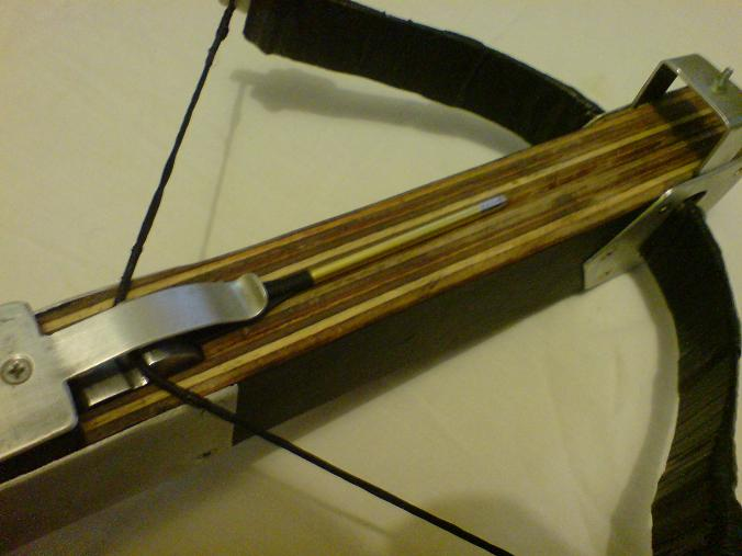 Homemade crossbow weaponcollector hand made diy xbow how to make cross