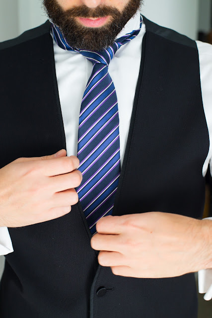 Seattle wedding men's tie