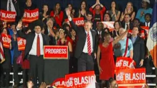 De Blasio Elected