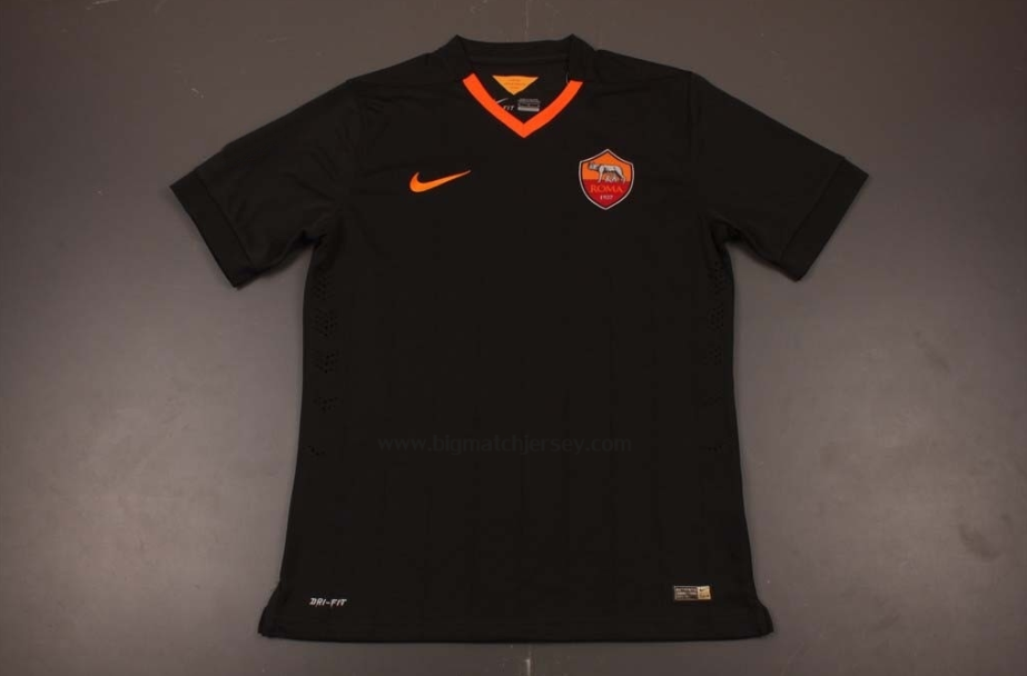 Player Version AS Roma Third Soccer Jersey 14-15