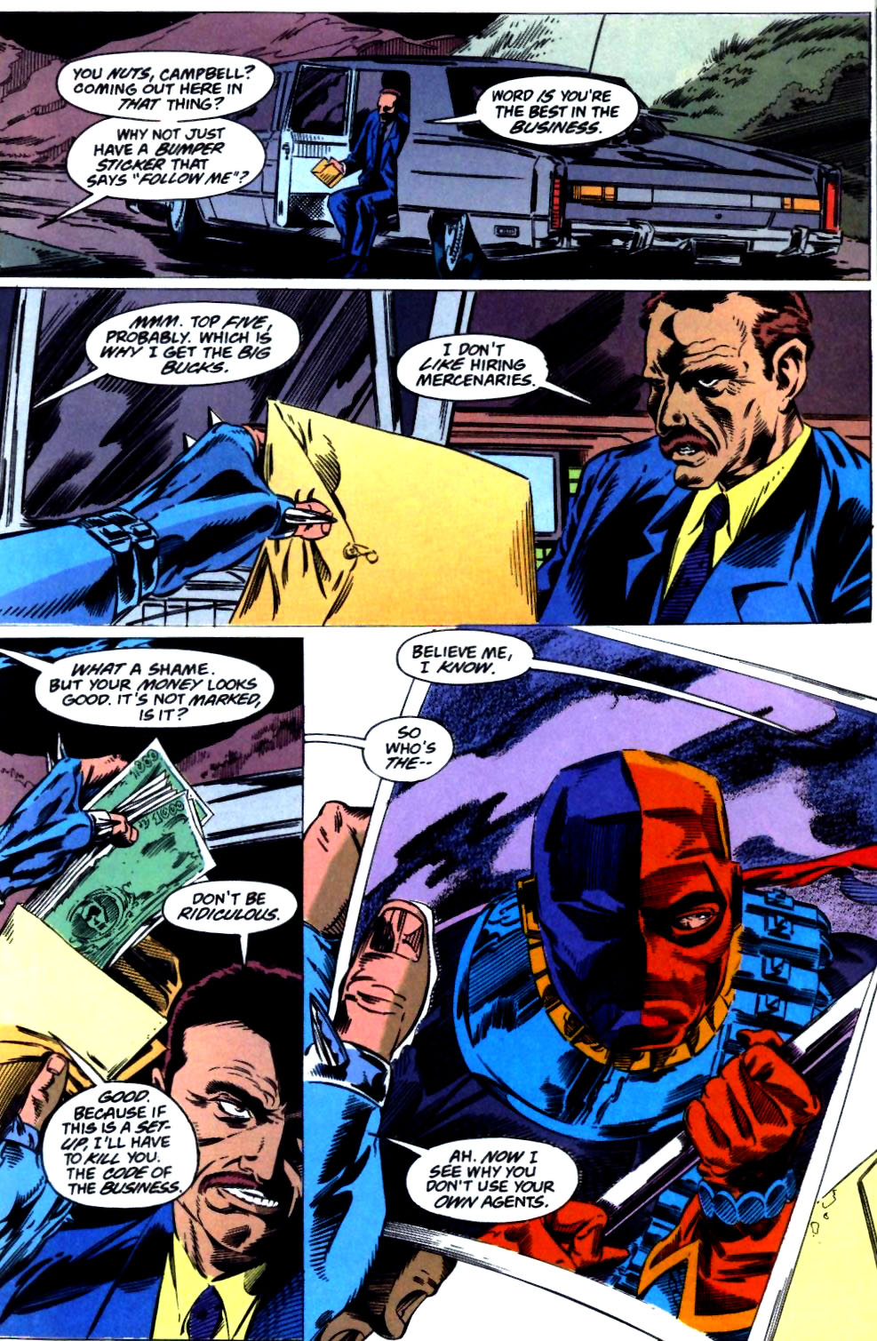 Deathstroke (1991) Issue #23 #28 - English 2