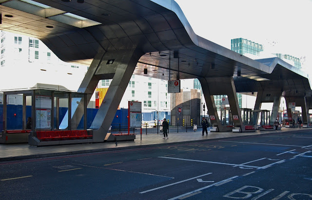 Vauxhall Cross and Bondway Bus Station copyright Bill Hicks
