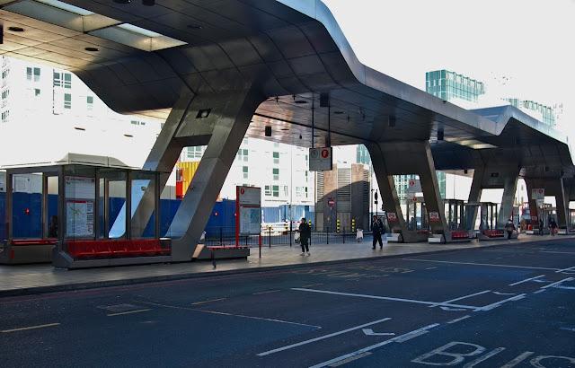 Vauxhall Cross and Bondway Bus Station copyright Bill Hicks