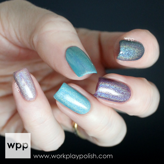 Colors by Llarowe Bubs Leather & Lace (Holo Topcoat)