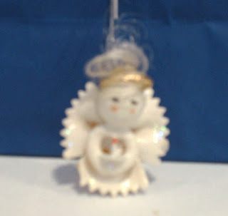 Pasta angel ornament