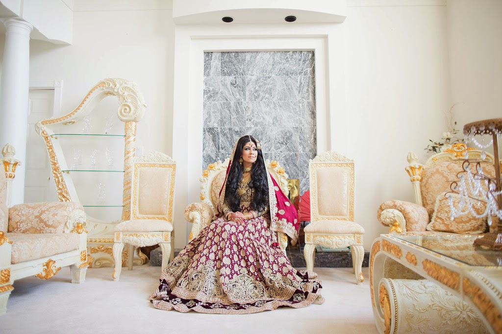 indian wedding, south asian wedding, bridal portrait, dupatta,