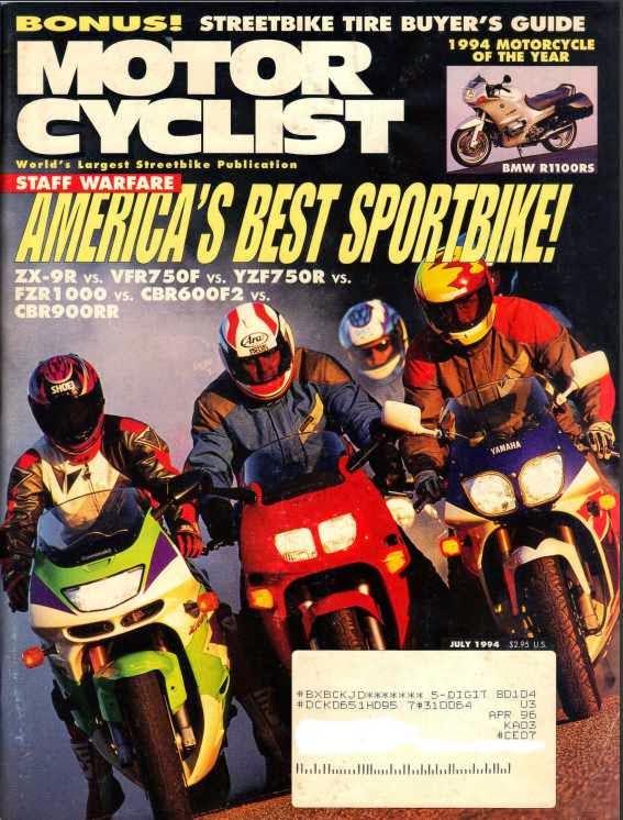 Motorcyclist Magazine August 2003- Suzuki GSX1300R Hayabusa, Kawasaki ZX-12R