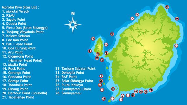 Diving - Wisata Pulau Morotai