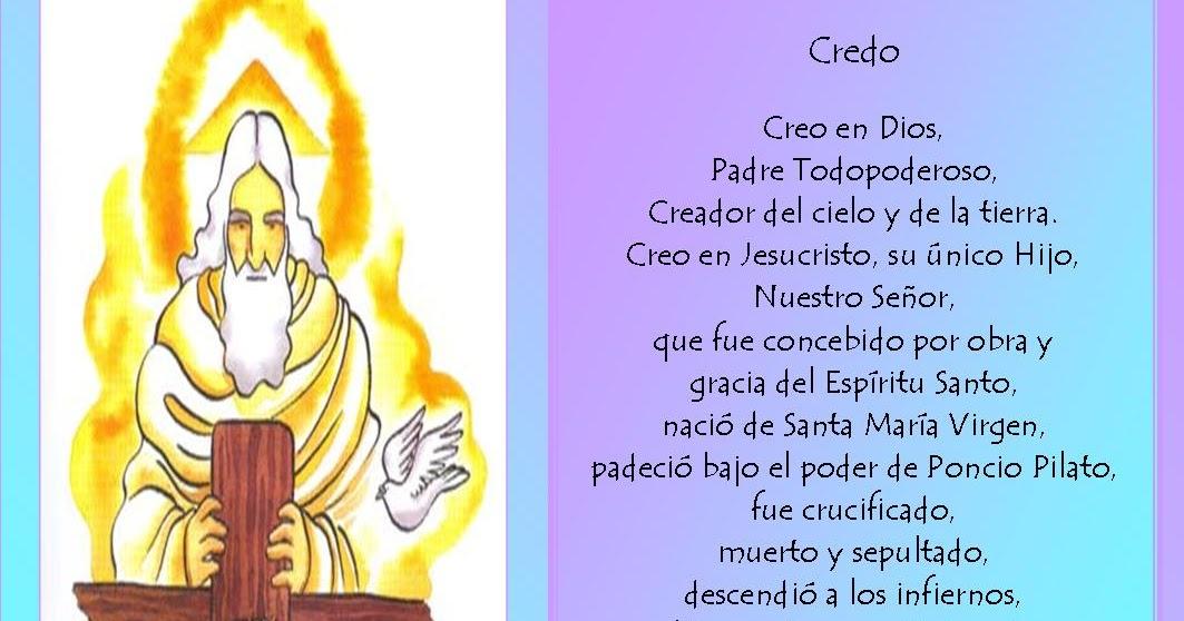 Poesas oraciones y cuentos CREDO APOSTLICO