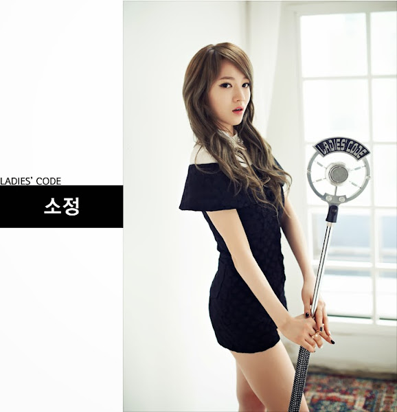 Ladies' Code Sojung So Wonderful Concept