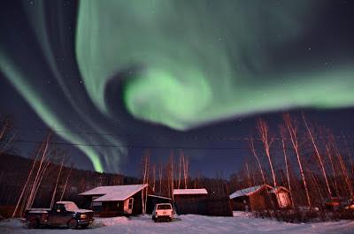 Auroras boreales 24 de Noviembre 2012