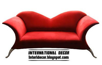 modern red sofa kiss sofa red design Modern sofas designs, colors,sofas fashions 2013