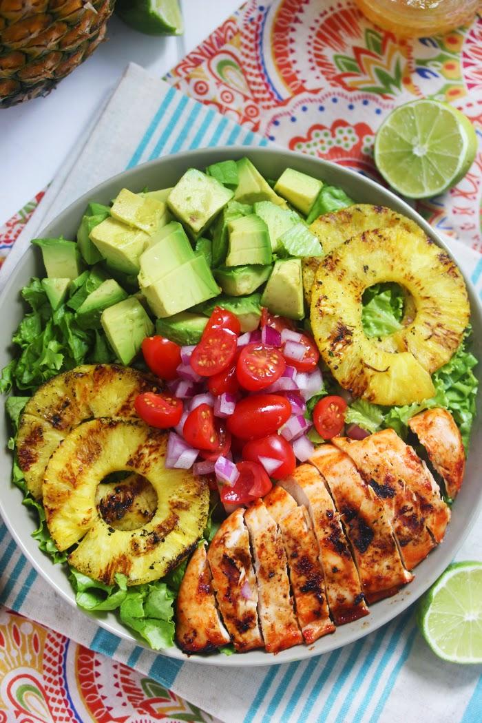 Sriracha Lime Chicken Chopped Salad Recipe