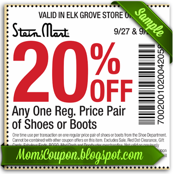 graphic regarding Stein Mart Printable Coupon called Stein mart within retail outlet coupon codes 2018 : Crest cleaners discount coupons