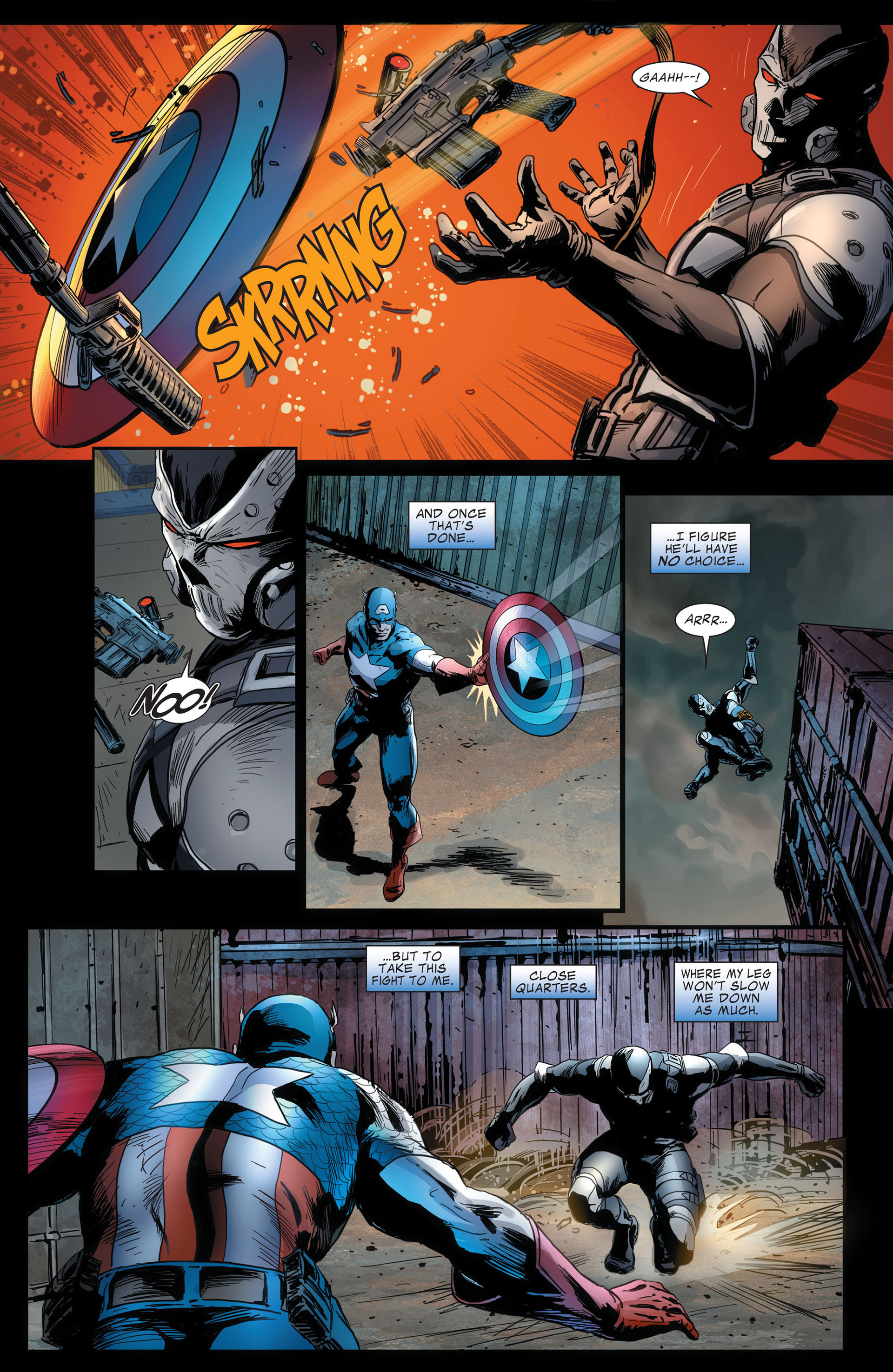 Captain America (2011) Issue #14 #14 - English 5