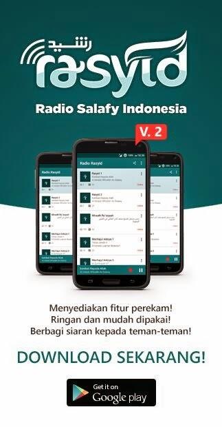 Aplikasi Radio Rasyid Android