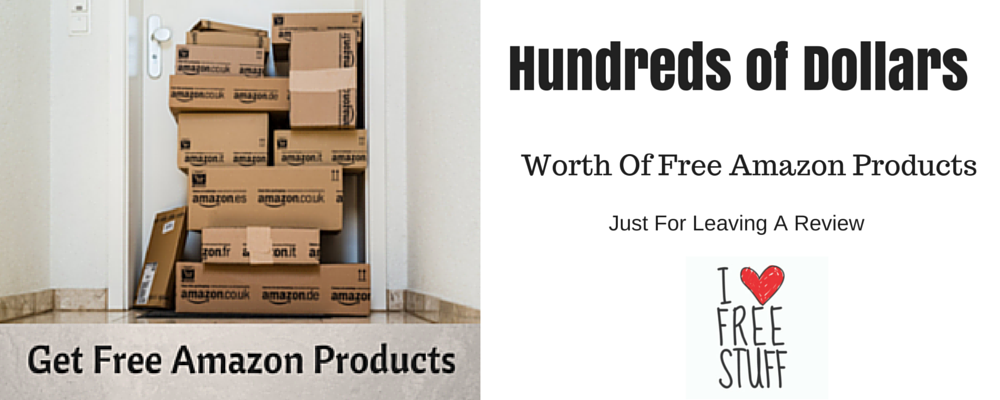 Get FREE Amazon Products