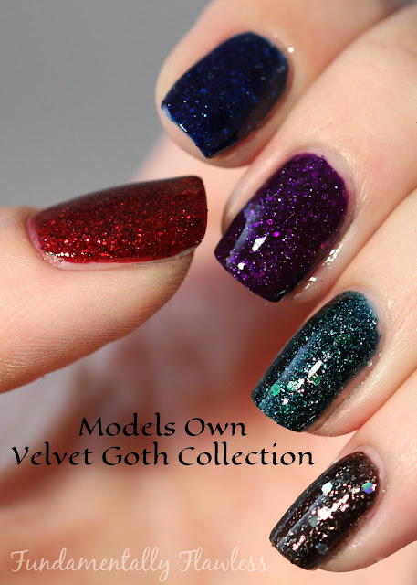Fundamentally Flawless: Models Own Velvet Goth Collection Swatch