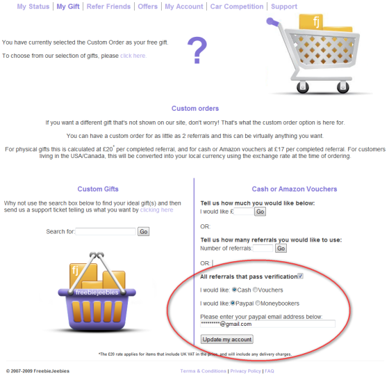 custom order ordem personalizada freebiejeebies