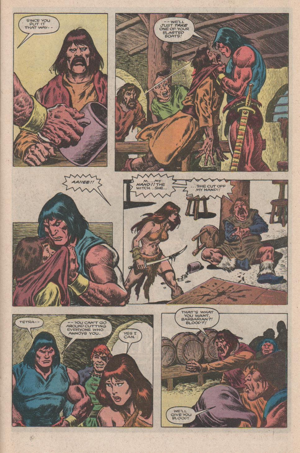 Conan the Barbarian (1970) Issue #175 #187 - English 8