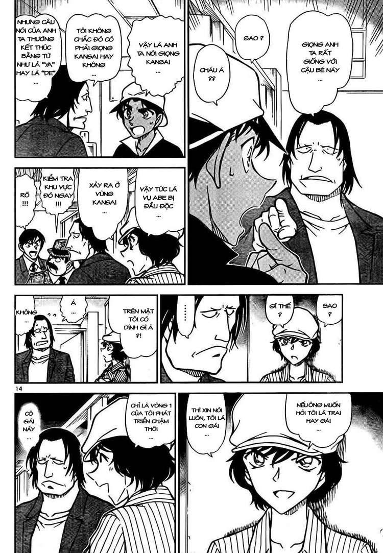 Detective Conan - Thám Tử Lừng Danh Conan chap 778 page 16 - IZTruyenTranh.com